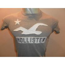 Camisetas Hollister Masculina 100% Original Em Pequeno