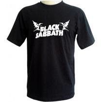 Camiseta Black Sabbath - Camisas Bandas Ozzy