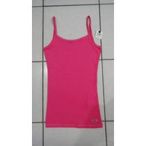 Hollister Camiseta Regata Fem Original Importada Nova