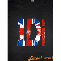 Camiseta One Direction 1d Inglaterra Lana Camisetas