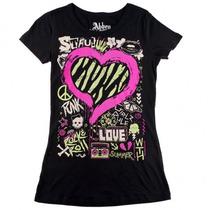 Blusa Kissing Abbey Dawn Avril Lavigne - Tam P