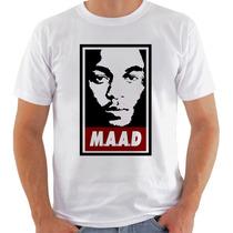 Camiseta Camisa Maad Kendrick Lamar Hip Hop Rap Rapper Music