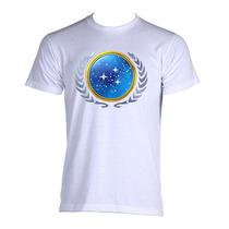 Camiseta Star Trek Jornada Nas Estrelas Federação P A Gg