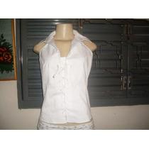 Blusa Branca Interior Paulista Numero G