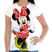 Camiseta Blusinha Minnie Estampada, Masculina E Feminina