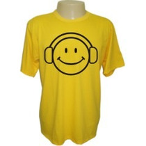 Camisetas Divertidas Panico Dj Emotion Deejay Smile Músico