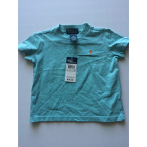 Camiseta Básica Polo Ralph Lauren Infantil Tamanho 18m Nova