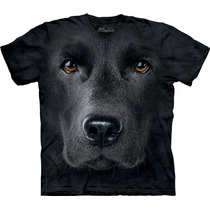 Camiseta Cão Cachorro Labrador Face Importada - The Mountain