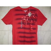 Camiseta Ecko Unltd Gola V Tamanho Especial 2xl 78cm X 60cm