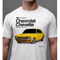 Camiseta Chevette Tubarão Chevrolet Carro Antigo - Asphalt