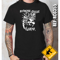 Camiseta De Banda - Extreme Noise Terror - Rock Club