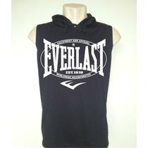 Camiseta Everlast Capuz - Boxe - Mma - Muay Thai - Ufc -