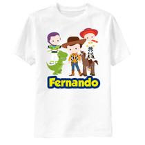 Camiseta Toy Story Amigos Personalizada