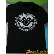 Camiseta Muppets Filme 2011animal Baterista - Lana Camisetas