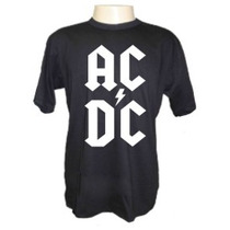 Camisetas Divertidas Ac Dc 1 Bandas Rock Metal Música Acdc