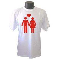 Camiseta Casal Divertidas Engraçadas Sátiras Banda Rock