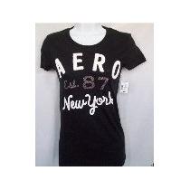 Aeropostale - Camisetas Femininas Originais Varios Modelos