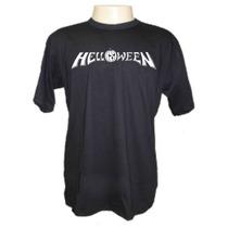 Camiseta Helloween Divertidas Engraçadas Sátiras Banda Rock