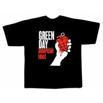 Camiseta Green Day - Camisas De Rock, Ramones, Foo Fighters