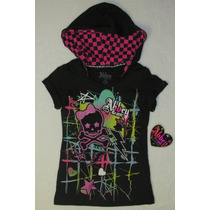 Blusa Chess Hood Abbey Dawn By Avril Lavigne
