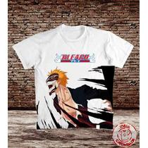 Camiseta Bleach Ichigo Hallow - Rukia - Anime