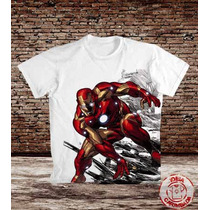 Camiseta Homem De Ferro - Iron Man - Tony Stark
