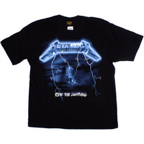 Camiseta De Banda - Metallica - Ride The Lightning