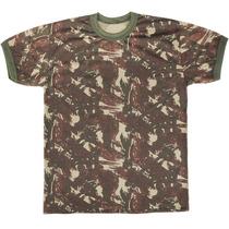 Camisa Camuflada, Malha Fria - Padrão Exército Brasileiro.