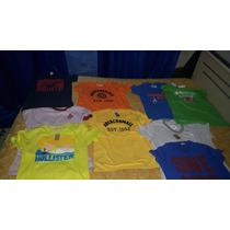 Camisetas Masculina Hollister E Abercrombie Original