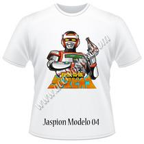 Camisetas Jaspion, Cdz, Naruto, Dbz, Bleach, Jiban, Jiraya..