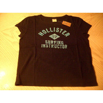Hollister Camiseta Feminina Tamanho P (nova Com Etiqueta)