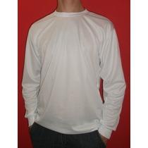 Camiseta Manga Longa Malha Dry Fit - Malha Inteligente