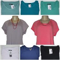 Atocadosgatos - Blusinha Camiseta Ampla Levemente Aberta