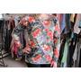 Blusa Malha Estampada Floral Tamanho M / G