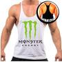 Camiseta Regata Super Cavada Masculina Musculação Malhar Top