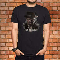 Camisa Breaking Bad: Heisenberg, I