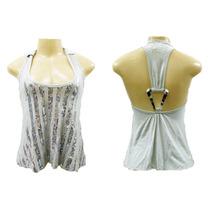 Blusa Cinza Mm #moda #brecho