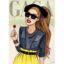 Babylook Com Estampas Da Lady Gaga