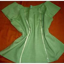 Blusa Verde Fem. - Social - Tamanho M - Aproveitem