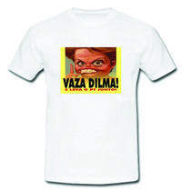 Camiseta Fora Dilma Vaza E Leve O Pt Junto Fora Pt