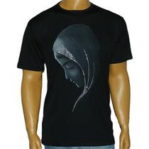Camiseta Religiosa Catolica Virgem Do Silêncio