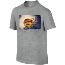 Camiseta Infantil Menino Global Futebol Imagery Tee Nike