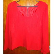 Blusa Social Vermelha - Tam. M