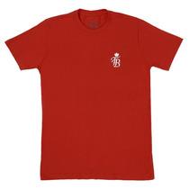 Camiseta Masculina Vaquejada Vermelha 100% Algodão - Top Bul