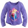 Blusa Luxo Thermal Anna Elsa Frozen Disney Store Oficia 9/10