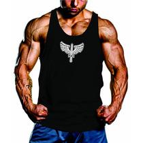 Camiseta Fitness Musculação Aeronáutica Regata