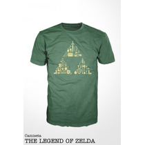 Camiseta The Legend Of Zelda - Nintendo - Link