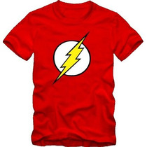 Camiseta The Flash E Super Heróis Batmam Capitão América