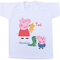 Camiseta Infantil Personalizada / Body - Peppa Pig George