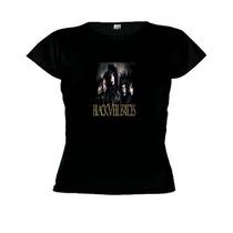Camiseta Baby Look Black Veil Brides